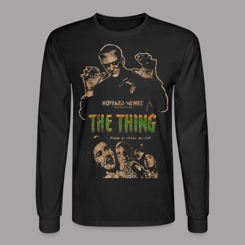 The Thing From Another World Men's T Shirt - Men's Long Sleeve T-Shirt