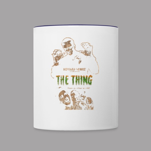 The Thing From Another World Men's T Shirt - Contrast Coffee Mug