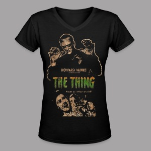 The Thing From Another World Men's T Shirt - Women's V-Neck T-Shirt