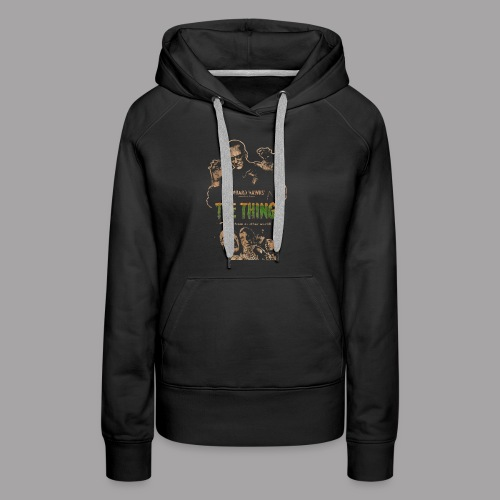 The Thing From Another World Men's T Shirt - Women's Premium Hoodie