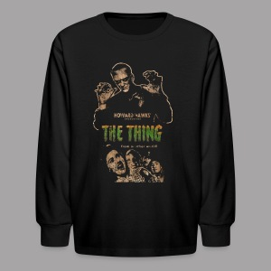 The Thing From Another World Men's T Shirt - Kids' Long Sleeve T-Shirt