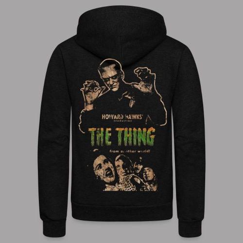The Thing From Another World Men's T Shirt - Unisex Fleece Zip Hoodie