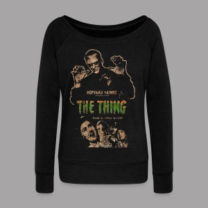 The Thing From Another World Men's T Shirt - Women's Wideneck Sweatshirt
