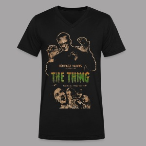 The Thing From Another World Men's T Shirt - Men's V-Neck T-Shirt by Canvas