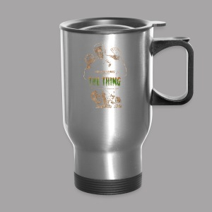The Thing From Another World Men's T Shirt - Travel Mug