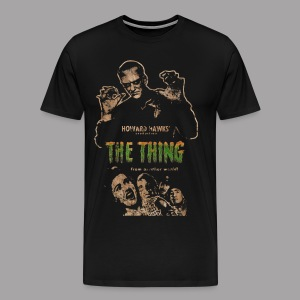 The Thing From Another World Men's T Shirt - Men's Premium T-Shirt