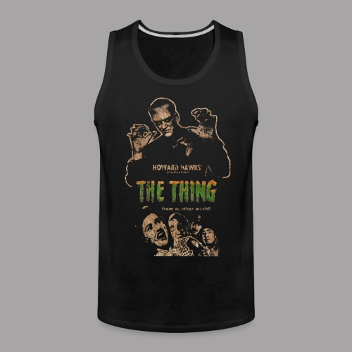 The Thing From Another World Men's T Shirt - Men's Premium Tank