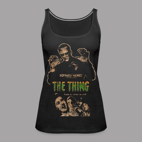 The Thing From Another World Men's T Shirt - Women's Premium Tank Top