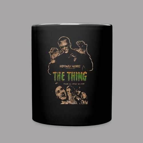 The Thing From Another World Men's T Shirt - Full Color Mug