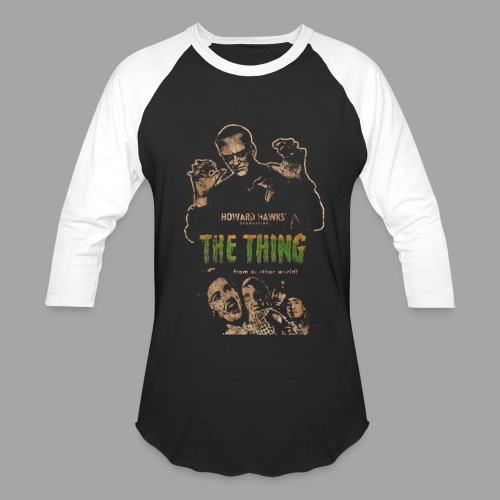 The Thing From Another World Men's T Shirt - Baseball T-Shirt