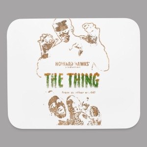 The Thing From Another World Men's T Shirt - Mouse pad Horizontal