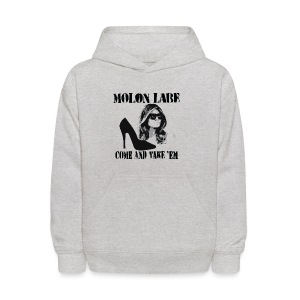 Melania Trump's Shoes: Molon Labe - come and take 'em! - Kids' Hoodie
