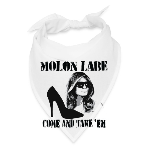 Melania Trump's Shoes: Molon Labe - come and take 'em! - Bandana