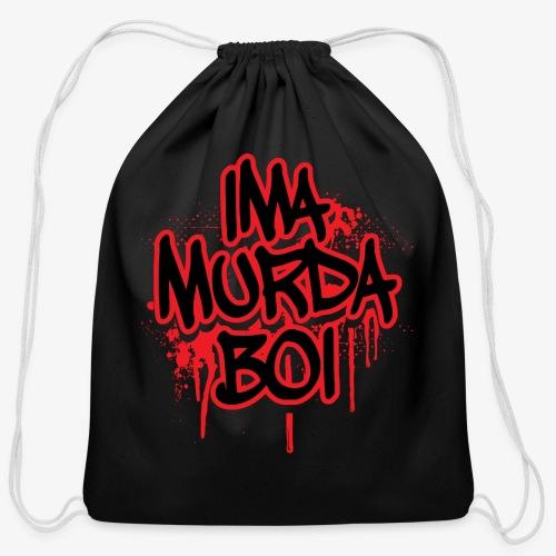 ima murda boi toddler  - Cotton Drawstring Bag