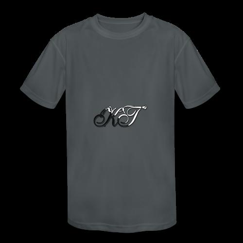 KhyrasTech Logo Premium Kid's Hoodie - Kid's Moisture Wicking Performance T-Shirt