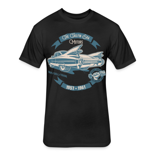 Tailfin Era Motors T-Shirts - Fitted Cotton/Poly T-Shirt by Next Level