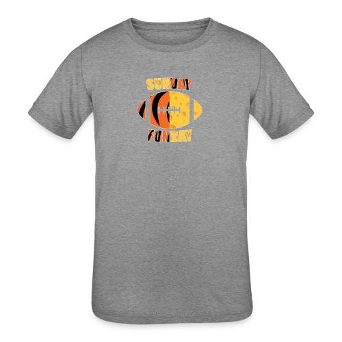 Green Bay Cincinnati - Kid's Tri-Blend T-Shirt
