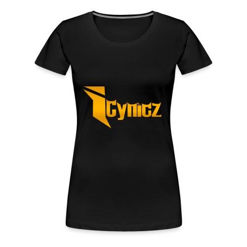 iCynicz Gold FEMALE - Women's Premium T-Shirt
