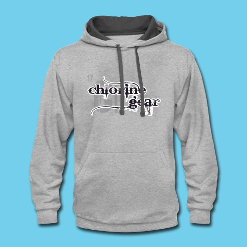 Will Swim For Food- Women's Hoodie - Contrast Hoodie