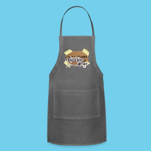 Will Swim For Food- Women's Hoodie - Adjustable Apron