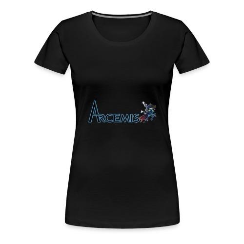 Arcemis Vayne Premius Hoodie (Women) - Women's Premium T-Shirt