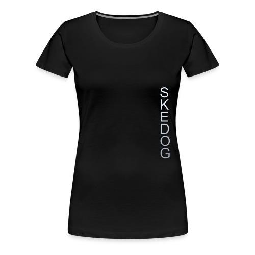 SkeHoodie Female - Women's Premium T-Shirt