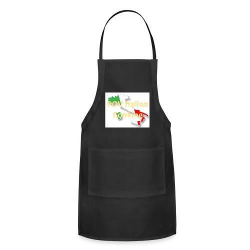 POV Italian Cooking Women's Premium Hoodie - Adjustable Apron