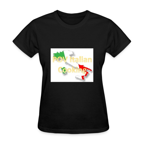 POV Italian Cooking Women's Premium Hoodie - Women's T-Shirt