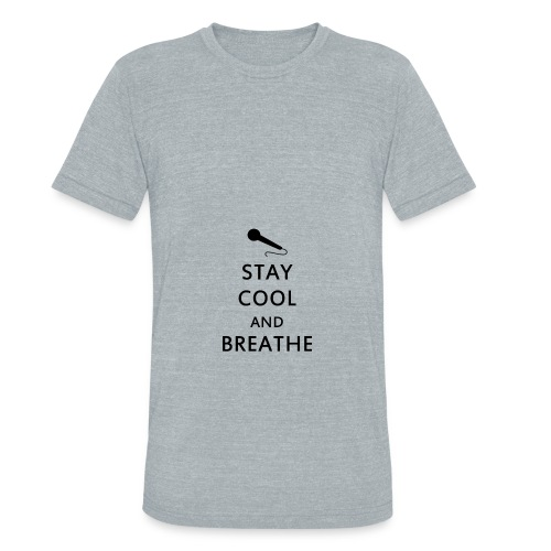 Napom Stay Cool and Breathe Hoodie - Unisex Tri-Blend T-Shirt
