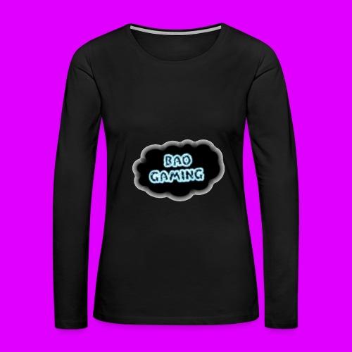 Womens BAOGaming Hoodie! - Women's Premium Long Sleeve T-Shirt