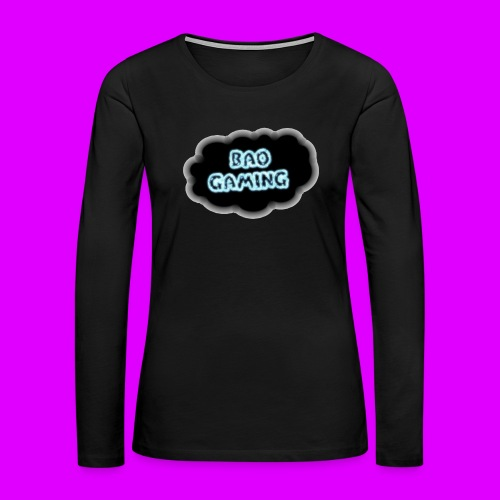 Womens BAOGaming Hoodie! - Women's Premium Long Sleeve T-Shirt