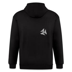 Pulse hoodie F - Men's Zip Hoodie