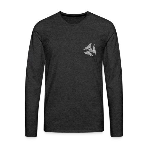 Pulse hoodie F - Men's Premium Long Sleeve T-Shirt