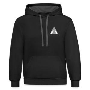 Spyglass hoodie F - Contrast Hoodie