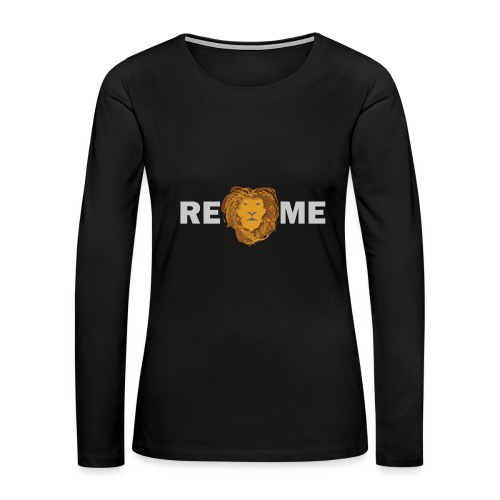 Rely On Me - Women's Premium Long Sleeve T-Shirt