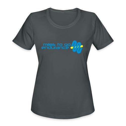 """Women's MTGE """"Where We Run"""" Hoodie - Women's Moisture Wicking Performance T-Shirt"""