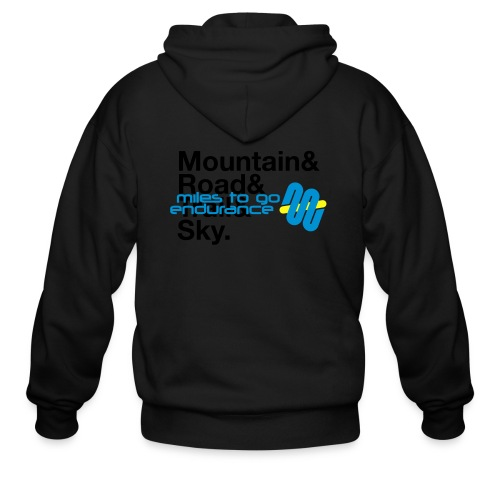 "Women's MTGE ""Where We Run"" Hoodie - Men's Zip Hoodie"