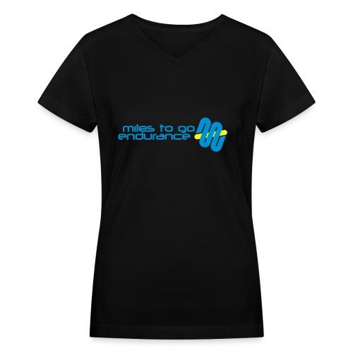 """Women's MTGE """"Where We Run"""" Hoodie - Women's V-Neck T-Shirt"""