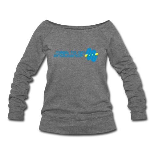 "Women's MTGE ""Where We Run"" Hoodie - Women's Wideneck Sweatshirt"