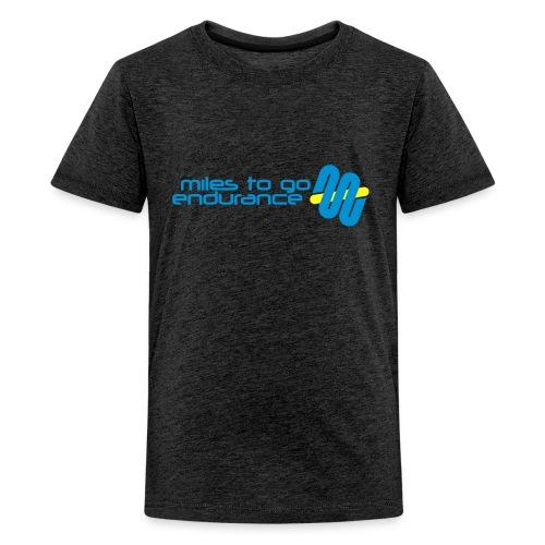 """Women's MTGE """"Where We Run"""" Hoodie - Kids' Premium T-Shirt"""