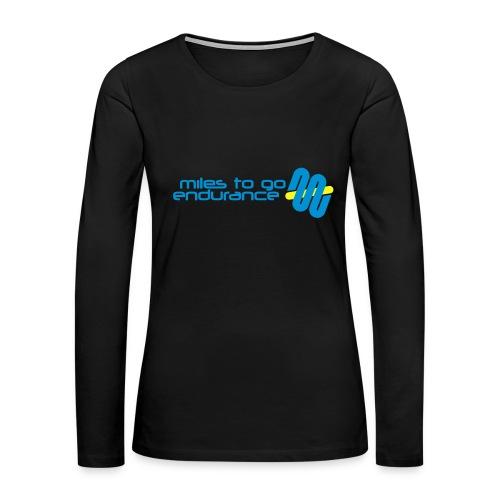 """Women's MTGE """"Where We Run"""" Hoodie - Women's Premium Long Sleeve T-Shirt"""