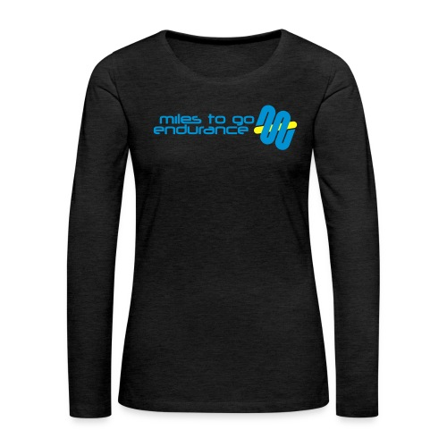 "Women's MTGE ""Where We Run"" Hoodie - Women's Premium Long Sleeve T-Shirt"
