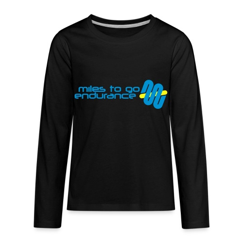 "Women's MTGE ""Where We Run"" Hoodie - Kids' Premium Long Sleeve T-Shirt"