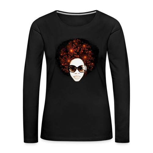 LIT Women's Hoodie - Women's Premium Long Sleeve T-Shirt