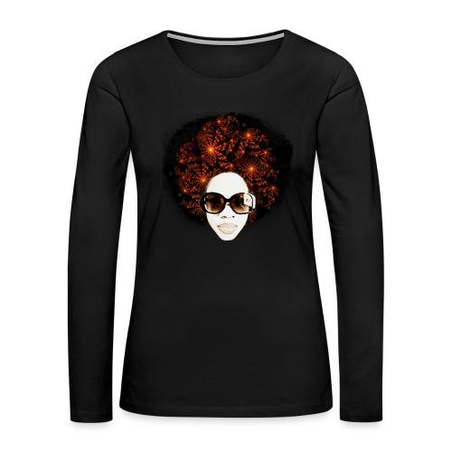 LIT Women's Hoodie - Women's Premium Long Sleeve T-Shirt