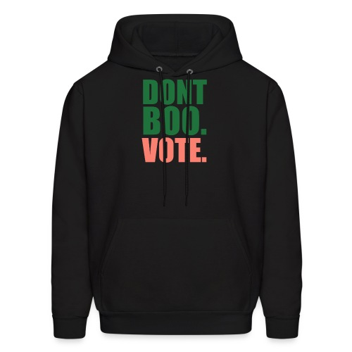Obama Dont Boo Vote pink and green Hoodie W - Men's Hoodie