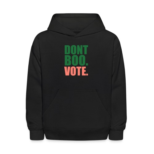 Obama Dont Boo Vote pink and green Hoodie W - Kids' Hoodie