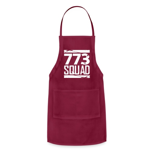 773 Squad Women's Premium Hoodie (Purple) - Adjustable Apron