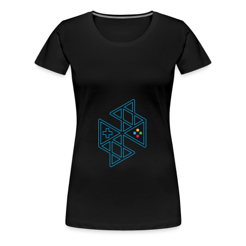 Abstract Gaming Women's Hoodie - Women's Premium T-Shirt