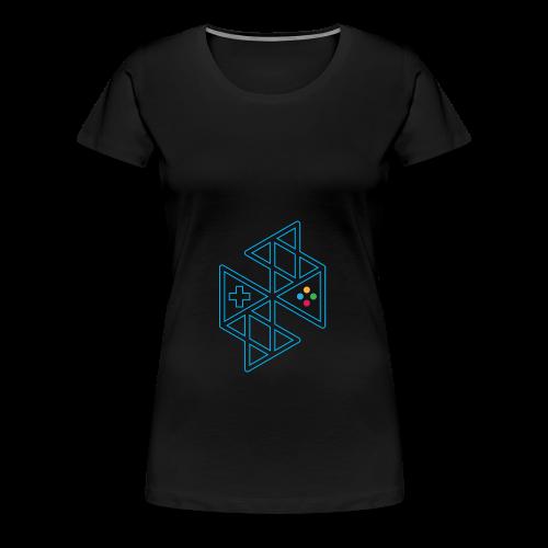 Abstract Gaming Women's Hoodie - Women's Premium T-Shirt
